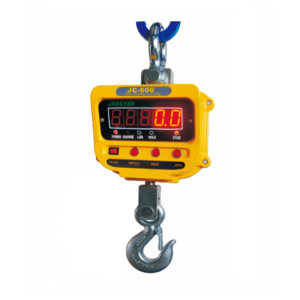 JADEVER 电子吊钩秤 JC-2000 最大称量2000kg 最小感量1kg 1台
