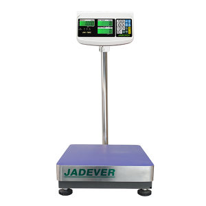 JADEVER 电子计数台秤 JWI-700C-60K 最大称量60kg 最小感量5g 面尺寸400*500mm 1台