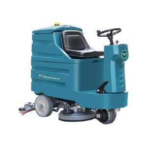 JIEDEMEI/洁德美 迷你驾驶全自动洗地吸干机 A7 24V 1800W 地刷宽度860mm 1台