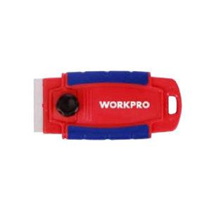 WORKPRO/万克宝 红蓝双色塑料包胶刮窗器 W018003WE.GD 1个