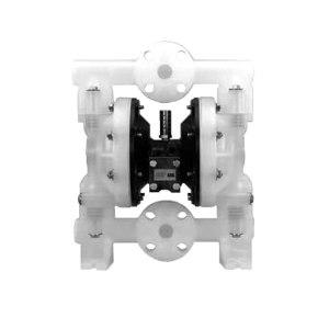 """INGERSOLL RAND/英格索兰 气动隔膜泵 6661A3-3EB-C 最大流量177.9L/min 接口1"""" 最大工作压力8.3bar 山道橡胶膜片 吸上高度4.6m 1台"""