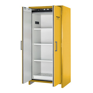 JUSTRITE/杰斯瑞特 90分钟EN防火安全柜 22605 114L/30gal 黄色 双门 半自动 标准配置 1个