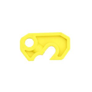 BOZZYS/博士 简易断路器锁 BD-D05-1 黄色 1个