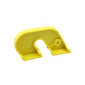 BOZZYS/博士 简易断路器锁 BD-D05-5 黄色 1个