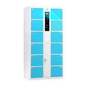 DT/迪团 微信扫码寄存柜12门 CBG-005-警蓝色-12 850×460×1800mm 警蓝色 1台