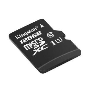 KINGSTON/金士顿 TF(Micro SD)存储卡 SDCS/128GBSP 读数80MB/s U1 C10 高速升级版 1个