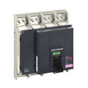 SCHNEIDER/施耐德电气 NS 配电保护 塑壳断路器  NS800N 4P MIC2.0 前置接线断路器 1个