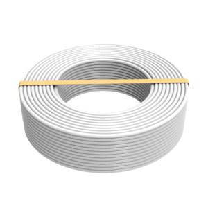 RONDA CABLE/朗达电缆 铜芯聚氯乙烯绝缘聚氯乙烯护套软电线 RVV-300/500V-3×2.5 护套白色 1米