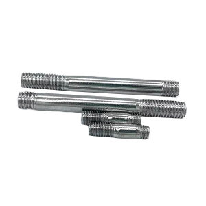 ZKH/震坤行 GB899 双头螺柱-bm=1.5d-A型 合金钢 10.9级 镀铬 104113012005008000 M12×50 1百个