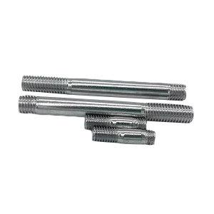 ZKH/震坤行 GB900 双头螺柱-bm=2d-A型 合金钢 10.9级 镀铬 104115012007008000 M12×70 1百个