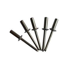 ZKH/震坤行 GB12616-90 封闭型沉头抽芯铆钉 铝 11(铝合金壳+钢芯) 本色 507013005002000000 φ5×20 1百个