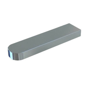 ZKH/震坤行 GB1096-79 普通型平键-C型 碳钢Q235 本色 340352004000400000 4×4×45 C型 1百个