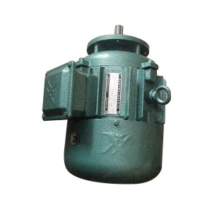 QZDJ/起重电机 锥形转子三相异步电动机 ZDY121-4  0.8KW 80V 50HZ 2.4A 1380r/min B级绝缘 IP44 锥杀制动 S3 40% 1台