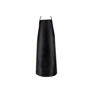 GC/国产 黑色加长加厚人造革围裙 HL-围裙 均码 黑色  1件