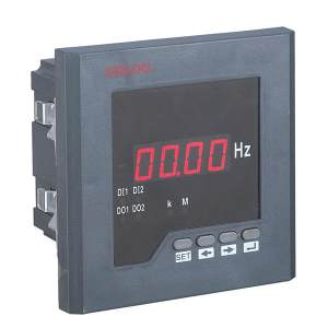 DELIXI/德力西 P*2222L42系列数显表 PA2222L-42X1 电流表 800/5 1个