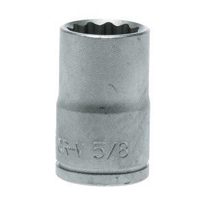 "TENGTOOLS/瑞典天魔 1/2""英制十二角套筒 M120120-C 5/8"" 1只"