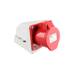 DELIXI/德力西 DEP2系列IP44工业明装插座 DEP2-114 16A 4芯 415V 1个
