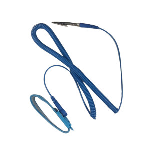 CLEANROOM/净雅 防静电手环 防静电手环 蓝色 拉伸后长5m 1个