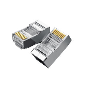 UGREEN/绿联 六类RJ45水晶头 50248 屏蔽 100个 1盒