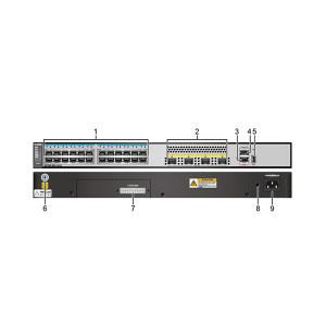 HUAWEI/华为 交换机 S5700S-28X-LI-AC 24个10/100/1000Base-T以太网端口 4个万兆SFP+交流供电 1台