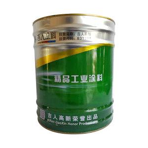 JIREN/吉人 高级醇酸调和漆 黑色 黑色一类  12kg 1桶