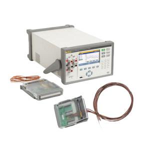 FLUKE/福禄克 高精度多通道测温仪 1586A/2HC 主机配二个内置接线模块(40通道) 1台