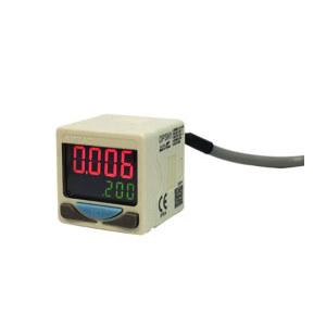 AIRTAC/亚德客 DPS系列电子式数显压力开关 DPSP1B-01020 压力范围-100~100kPa 接口Rc1/8 PNP 直接出线式 线长2m 1个