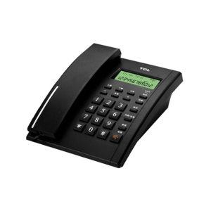 TCL 有绳电话机 HCD868(79)TSD 硬塑 黑色 1台