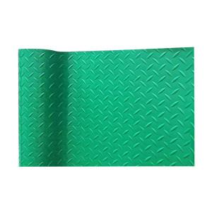 HANDAFEI/瀚达飞 PVC防水防滑地垫 绿色 120*1500cm 1卷