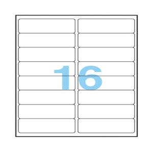 ANEOS/安内斯 透明打印标签 A7562-20 99.1×34mm 20张 1本