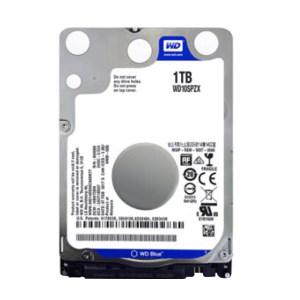 WD/西部数据 笔记本硬盘 WD10SPZX 1TB 5400RPM 128M SATBA接口 简装 1个