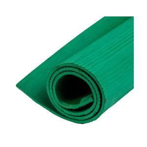 BL 绝缘垫 84074G 绿色 条纹 1*1m 10mm厚 1张
