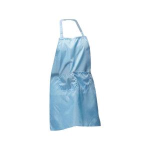 HYJJ/翰洋洁净 防静电围裙 H-1131 蓝色条纹 1条