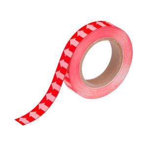 BL 管道流向箭头带(红色) 31093R 30mm*20m 1卷