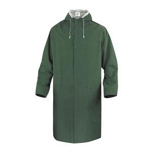 DELTA/代尔塔 涤纶风衣版连体雨衣 407005 XL 绿色(VE) 1件