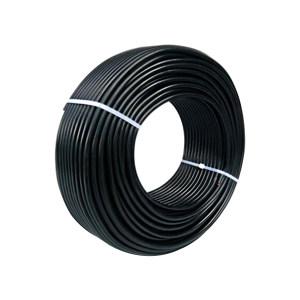 QIFAN/起帆 铜芯交联聚乙烯绝缘聚氯乙烯护套电力电缆 YJV-0.6/1kV-4×4 护套黑色 1米