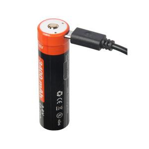 NICRON/耐朗 USB直充18650锂电池 NRB-L3400 1套