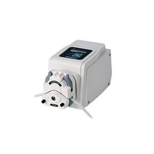 LONGER/兰格 精密蠕动泵 BT100-2J(泵头型号DG-2(10 rollers)) 转速范围0.1~100RPM 流量范围0.0002~32mL/min 单通道流量32mL/min 通道数量2 正反转可逆 1台