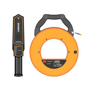 SNDWAY/深达威 管道测堵仪 SW-730 30米探测线 金属管/PVC管均可测量 双1001ma/H锂电池 快速收线装置 箭形探测手柄 1台