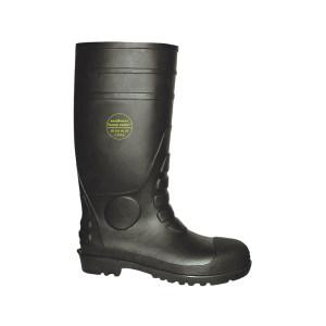 LEVER/莱尔 PVC防化安全靴 SL-2-992 42码 防砸防刺穿防静电 1双