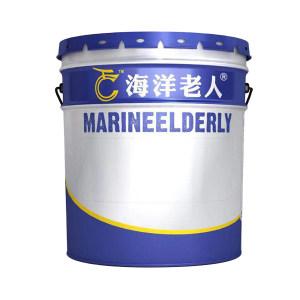 HYLR/海洋老人 醇酸调和漆 经济型 国标B01深灰 15kg 1桶