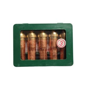 GUOSHENG/国胜 丙烷割嘴 G01-100 3# 3号 5只 1盒