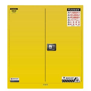 ZOYET/众御 易燃液体安全柜 ZYC0110 110gal/410L 高1650mm 宽1500mm 深860mm 双门 手动 黄色 1台