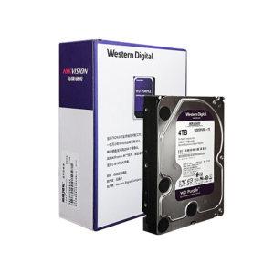 "HIKVISION/海康威视 监控专用存储硬盘 WD40PURX 4TB 3.5"" SATA 1个"