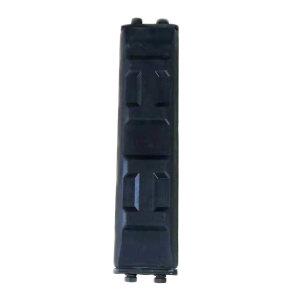 ZKH/震坤行 脚链板 挖掘机履带橡胶块 长度500mm 1块
