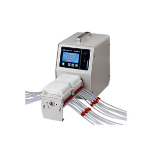 LONGER/兰格 多通道蠕动泵 BT100-1L(泵头型号DG15-24) 转速范围0.1~100.0RPM 流量范围0.002~380mL/min 单通道流量380mL/min 通道数量2 正反转可逆 1台