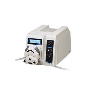 LONGER/兰格 灌装蠕动泵 BT100-1F(泵头型号DMD15-13-D) 转速范围0.1~100RPM 流量范围0.02~300mL/min 单通道流量300mL/min 通道数量1 正反转可逆 1台