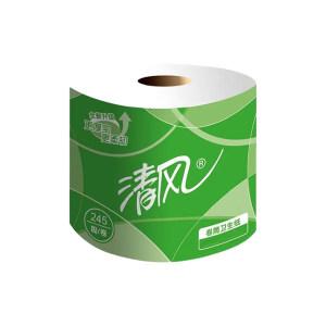 BREEZE/清风 3层平纹小卷卫生纸 B22AA3S 三层245段 110×100mm 3kg 1箱