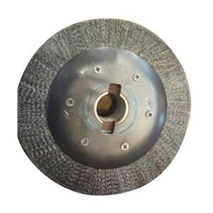 JLZC/吉林中车 钢丝轮刷 轴身刷 Φ300×70×50 带键轴 86×20×15 1个