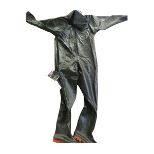 ZKH/震坤行 含帽连体式下水裤 43# 不含手套 含靴子 1套